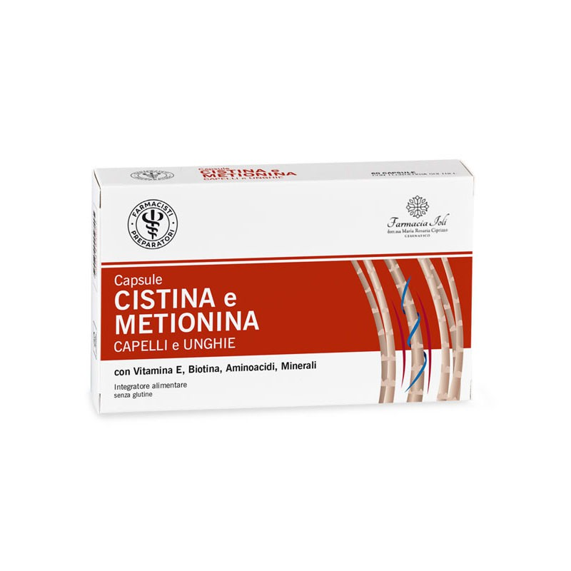 CISTINA E METIONINA 60 cps