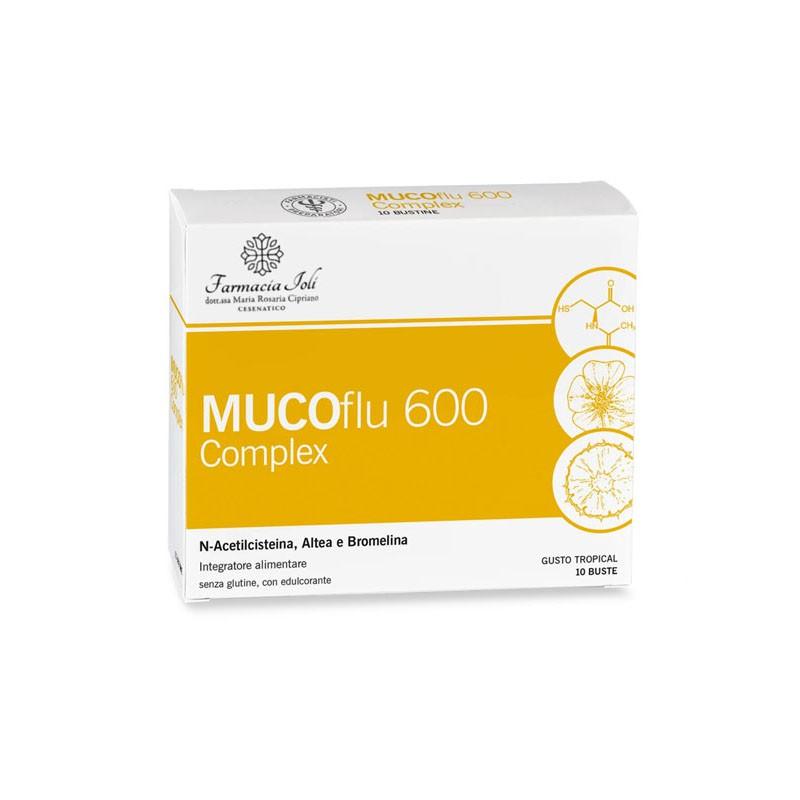 Muco flu 600 complex