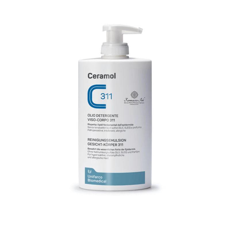 Olio detergente viso-corpo