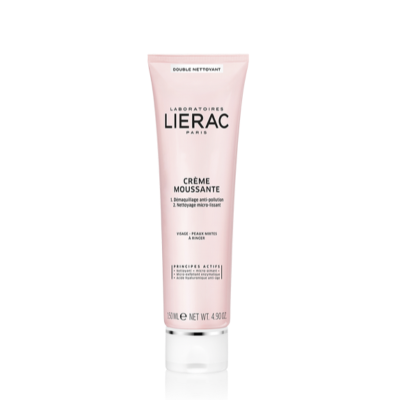 Lierac-Crema-Struccante-Mousse-Doppia-Azione -Viso-Farmacia Ioli