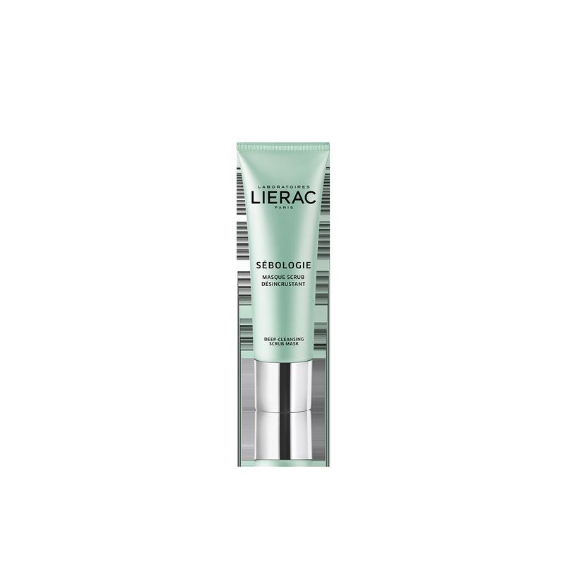 Lierac Sébologie Maschera Scrub Pulizia Profonda è ideal per pelli da miste a grasse